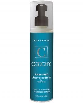 Coochy Rashfree Shave Creme - 8 oz Fragrance Free