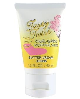 Tasty Twist Oral-Gasm Enhancer Balm - Buttercream Icing