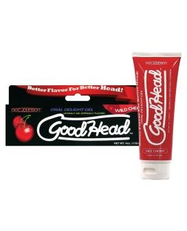 Good Head Oral Gel - 4 oz Wild Cherry