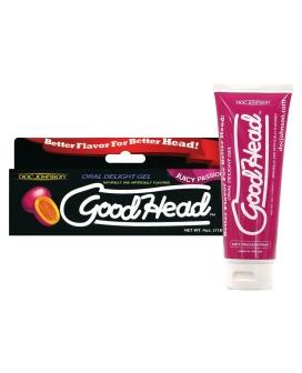 Good Head Oral Gel - 4 oz Passion Fruit