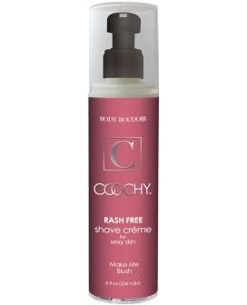 Coochy Rashfree Shave Creme - 8 oz Blush