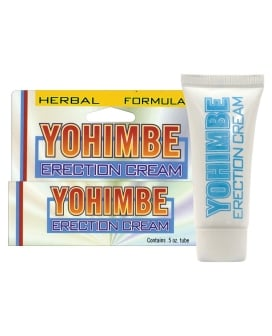 Yohimbe Erection Cream - .5 oz
