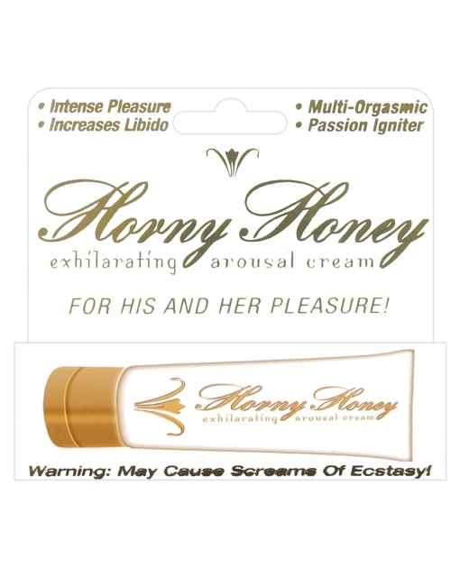 Horny Honey Stimulating Arousal Cream - 1 oz