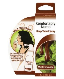 Comfortably Numb Deep Throat Spray - Mint Chocolate