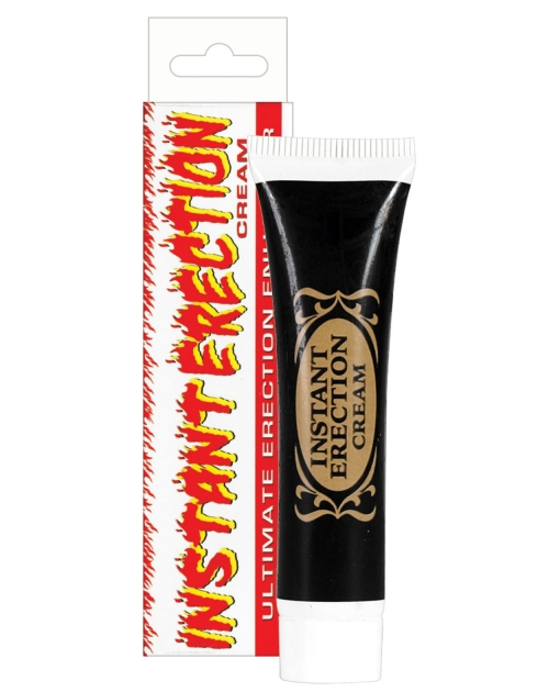 Instant Erection Cream Soft Packaging - .5 oz