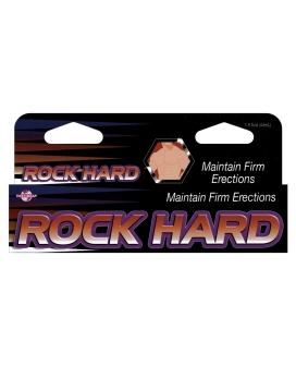 Rock Hard Maintain Firm Erections