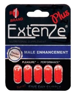 ExtenZe Plus Male Enhancement - 5 Tablet Blister