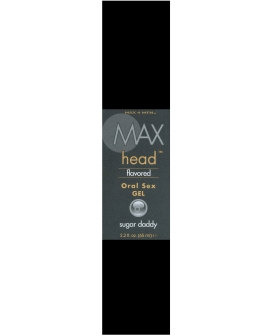 Max Head Oral Sex Gel 2.2 oz Sugar Daddy