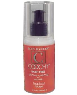 Coochy Rashfree Shave Creme - 4 oz Tropical Tease