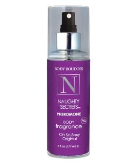 Naughty Secrets Body Mist w/Pheromones - 6 oz Original