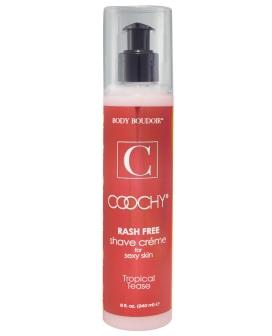 Coochy Rashfree Shave Creme - 8 oz Tropical Tease