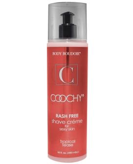 Coochy Rashfree Shave Creme - 16 oz Tropical Tease