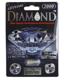 Extreme Diamond Platinum 2000 - 1 Capsule Blister