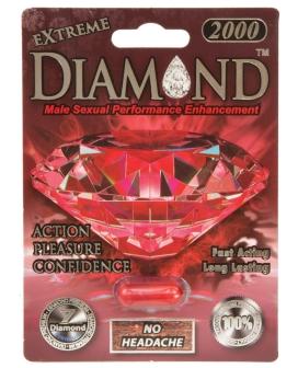 Extreme Diamond Premium 2000 - 1 Capsule Blister