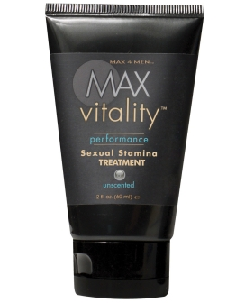 Max Vitality Performance Sexual Stamina Treatment - 2 oz Unscented