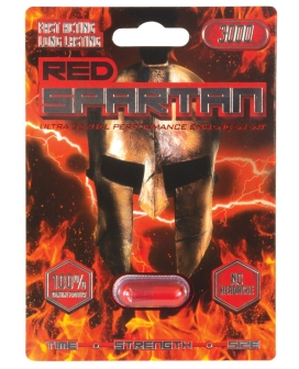 Red Spartan 3000 - 1 Capsule Blister Pack