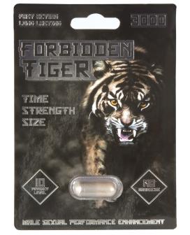 Forbidden Tiger 3000 - 1 Capsule Blister