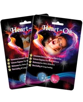 Heart On Male & Female Enhancer - 2 Capsule Blister