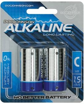 Doc Johnson Alkaline Batteries - C 2 Pack