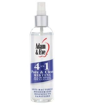 Adam & Eve 4 In 1 Pure & Clean Misting Cleaner - 4oz