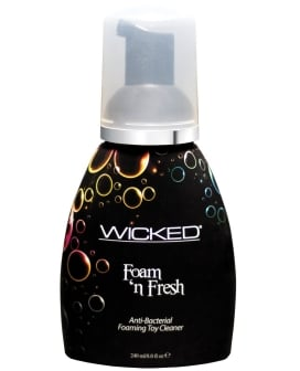 Wicked Sensual Care Collection Anti Bacterial Foaming Toy Cleaner - 8 oz Foam N Fresh