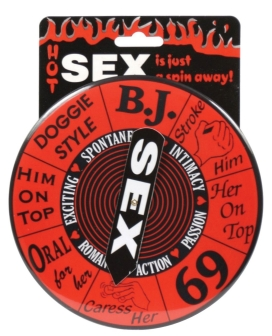 Sex Single Spinner Game Button
