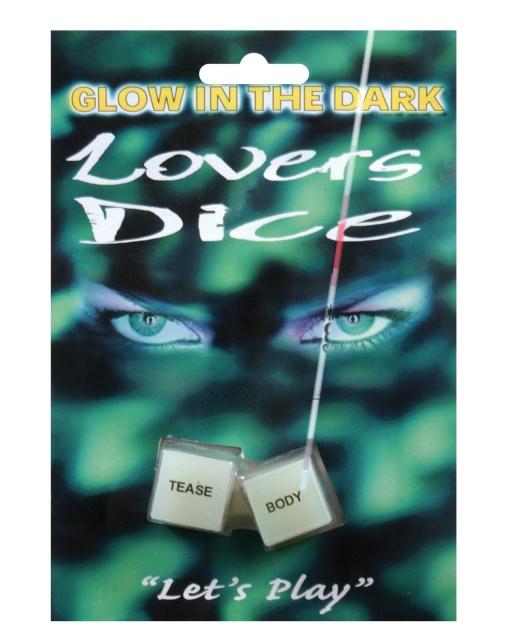 Glow in the Dark Lover's Dice Game