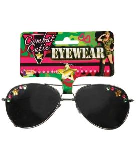 Combat Cutie Tinted Sun Glasses