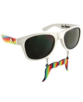 Sun Staches Rainbow Stache