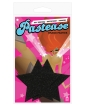 Pastease Black Glitter Star O/S