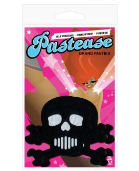Pastease Black Skull w/White O/S