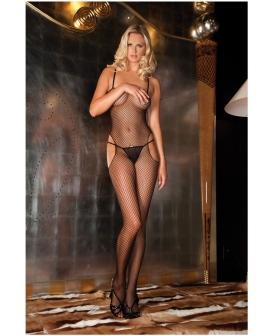 Rene Rofe Sexy & Sensual Bodystocking Black O/S
