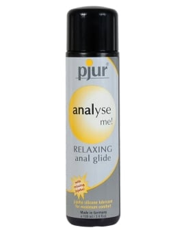 Pjur Analyse Me! Relaxing Anal Glide Silicone - 100 ml Bottle