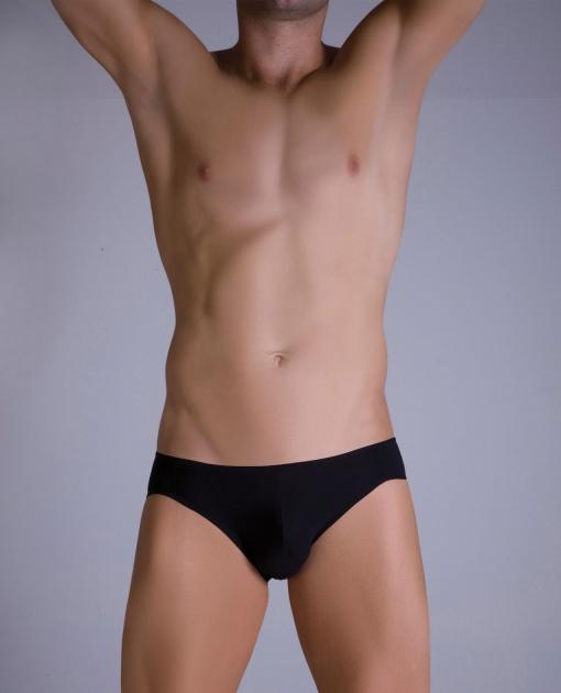 Male Basics Crossed Bikini Black L/XL