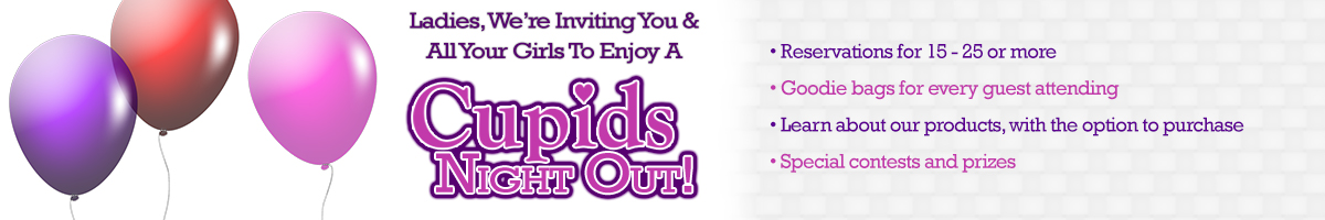 Ladies, We're Inviting You & All Your Girls To Enjoy A Cupid's Night Out!
