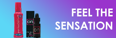 Feel the sensation! Shop Stimulating Gels, Numbing Creams, & More!
